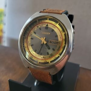 Vintage Citizen 21 Jewels Automatic Aviator Watch